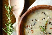 Chilis, Dahls, Soups, and Stews / Chili, Chowders, Consomé, Dahl, Purées, Soups, and Stews.