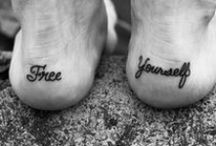 FOOT TATTOOS / The coolest foot tattoos around.  / by Bearfoot Theory I Kristen Bor
