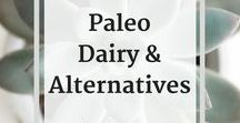 * Paleo Recipes - Dairy & Dairy Alternatives / This is a collection of Paleo recipes for dairy (yogurt, kefir, cream cheese dips) as well as dairy alternatives (cheese replacements, and dairy free yogurts, etc).   Check out my blog and subscribe to my newsletter for the latest updates and recipes:   http://www.baconandwhippedcream.com