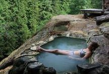HOT SPRINGS / Discover the best hot springs all around the world. Time for a soak!