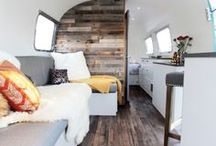 TINY HOUSE MANIA / Tiny home love! These stylish & creative uses of tiny spaces in tiny homes will help inspire your design! From DIY to deluxe these stationary and little homes on wheels will leave a big impact.