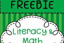 Sherry Clements - Teachers Pay Teachers FREEBIES / FREE Kindergarten classroom curriculum ideas including activities for reading, centers, writing, math, beginning of the year (first day) and the end of the year.