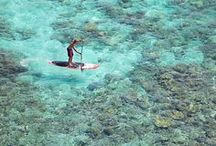 STAND-UP PADDLE BOARDING / Tips on where and how to go stand-up paddle boarding