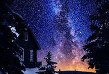 STARRY SKIES / Beautiful nighttime travel photos