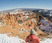 NATIONAL PARKS IN WINTER / Visit our National Parks in the off-season. Here's trip planning resources and destinations for a winter National Park road trip.