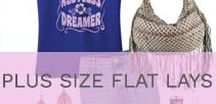 Plus Size Fashion Flat Lay Outfit Inspiration / Fashionable plus size outfit inspiration, featuring our favorite Polyvore sets and styling flat lays to make sure your OOTD slays! Follow this board to stay current with the latest curvy style trends!
