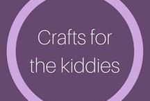 Crafts for kiddies / Great creative crafts for the kids