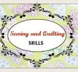 Sewing and Quilting Skills / ecourses and eLearning to improve your sewing and quilting skills.