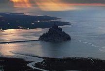 Mont Saint Michel, vue d'ensemble