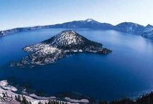 USA Crater Lake et lac Tahoe