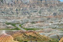 USA Badlands NP, SD