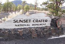 USA Sunset Crater NM, AZ