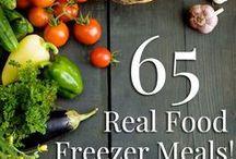 Freezer Friendly Recipes / Recipes that freeze well.