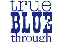 True Blue Fan / Kentucky Basketball / by Angie Moore Clary