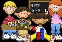 Math / Math activities for second grade. / by Tina Merdinyan