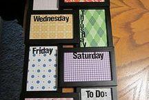 Getting organized / by Tina Merdinyan