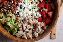 Salad Recipes / Not your traditional leaf-based salads. This board is for pasta salads and chicken salads.