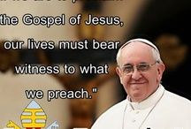 Pope Francis / by Doreen Martin