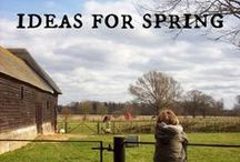 Spring Projects / {All Year Round} Spring projects and inspiration including seasonal thoughts, pictures, activities, crafts, recipes, books, art, nature study, celebrations and more.  To contribute to this board contact us at  http://sunnydaytodaymama.blogspot.co.uk  / by Sunny Days