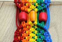 Yarn, Crochet, Weave & Knit  / by Kassandra Partaledis
