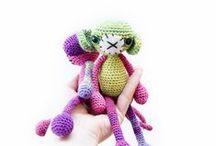 Crochet  Amigurumi ~ / Various patterns / by Nancy Welch
