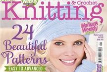 Knitting Magazine Covers / by Woman's Weekly