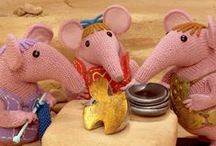 Clangers / All about the brand new TV series of Clangers - did you know you can knit one as well?