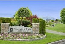 Golfing at The Club at Snoqualmie Ridge / Become a member at Snoqualmie's premier private golf club!