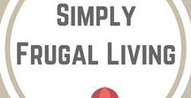 Simply Frugal Living / Living well on less in order to become debt free.  Thrifting.  Repurposing.  Making do.  Simple living.