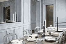Dining Spaces / Meal sharing and gathering around a good table is one of the essential part of our lives.