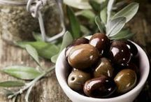 Olives / The core ingredient of the Mediterranean cuisine.