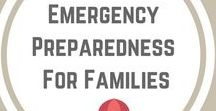 Simply Emergency Preparedness For Families / Simple ideas to increase your family's level of preparedness and chances of survival.