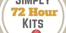 Simply 72 Hour Kits / 72 Hour Kit,   Bug Out Bag,  Emergency Kit,  Survival Kit .  What you need to get you through the first 72 hours after an emergency.