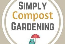 Simply Compost Gardening / How to compost gardens.  How to make your own compost.