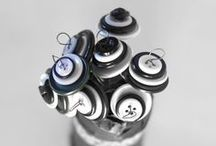 Knappar | Buttons / Pyssel med knappar | DIY with buttons