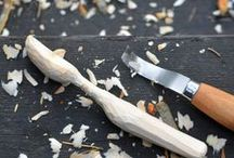 Tälja   Woodcarving