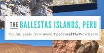 The Ballestas Islands, Peru / We set off early for a boat trip around Peru mini version of the Galapagos, the infamously nicknamed 'The Poor Man´s Galapagos', the Ballestas Islands of Peru.