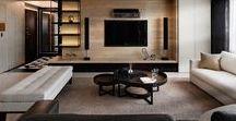 Living-room TV walls