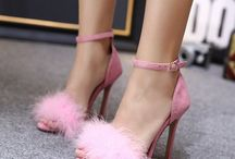 Shoes ♡ / Lots of glitter and pinks.