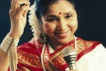 Asha Bhosle / Famous words by the legendary songstress Asha Bhosle