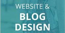 Website and Blog Design / Tips and tricks to brand your blog or business and design marketing materials. Strategies, tips, resources, tools and more to brand your business, design your website, and create stunning visuals. Website design, SEO, logo design, social media branding and design strategy.