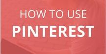 How to Use Pinterest / Learn how to use Pinterest to drive blog traffic and build your business. Get Pinterest tips  and learn how to manage your Pinterest business account, grow your Pinterest following and drive website traffic from Pinterest. Tips on creating pins that go viral and drive traffic!