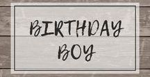 Boys Birthday Ideas / Celebrate the birthday of your baby or kids in cute shirts!