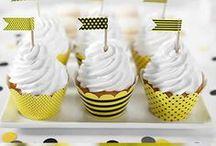 CandyBar / Un candybar perfecto se completa con accesorios bonitos y detalles cuidados. Aquí encontrarás desde capsulas para muffins a cajitas decoradas para galletas artesanas, cajas para palomitas de colores, pajitas originales, y un monton de complementos para que tus mesas dulces sean perfectas.