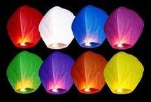 Farolillos voladores / Sky lantern