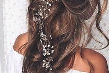 Peinados novias e invitadas / Wedding Guest Hairstyles / Ideas para el peinado de nuestra boda o para cuando vayamos de invitadas a una boda.