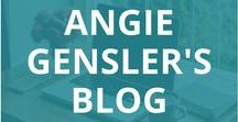 Angie Gensler's Blog / Blog posts from Angiegensler.com.  Learn how to start a blog, how to use social media and digital marketing to drive blog traffic, and how to make money blogging. Blogging tips, business tips, social media marketing tips, digital marketing tips, and growth hacking tips.