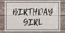 Girl's Birthday Ideas / Fun outfits and party ideas to celebrate the birthday girl!