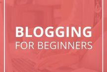 Blogging for Beginners / Blogging for beginners is full of tips, tricks, resources, tutorials, and video trainings to help you build a profitable blog. Learn all the ins and outs of blogging including how to grow your blog traffic, how to build an email list, and how to monetize your blog.