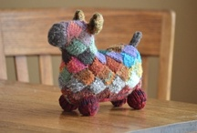 Spinning, knitting, felting / Spinning, knitting and felting patterns, ideas and inspiration.  Gifts for the fiber enthusiast.  Spinning, knitting and felting products. Wool / by Teresa Perleberg | Needle Felting Artist | Bear Creek Felting